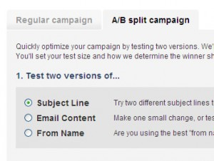 A/B Split Type